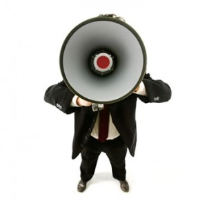 A Politician's Role in the Twitterverse: Megaphone vs. Telephone