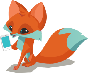 Smart Fox on Mobile Phone